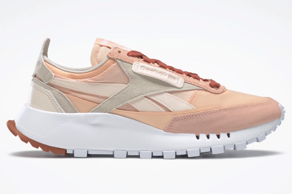 sneakers, pink, reebok