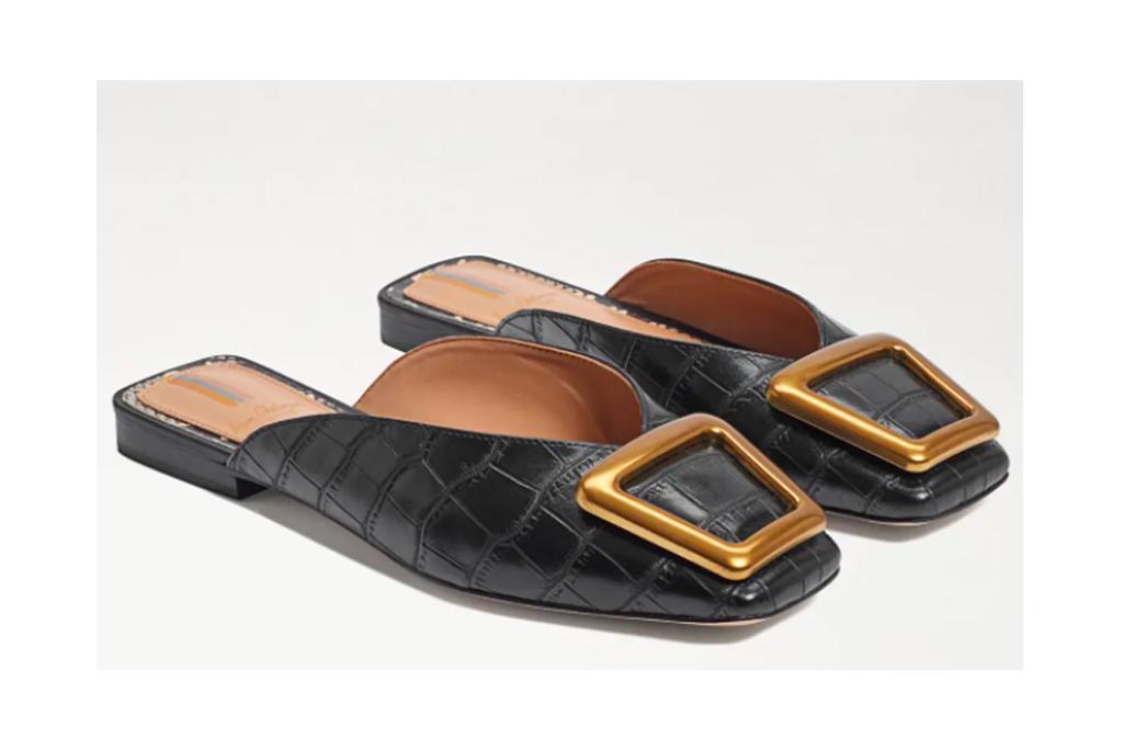 sam edelman lavina buckle mule, best office shoes