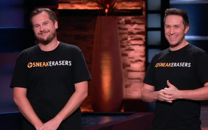 sneakerasers, founders, shark tank, product, pitch
