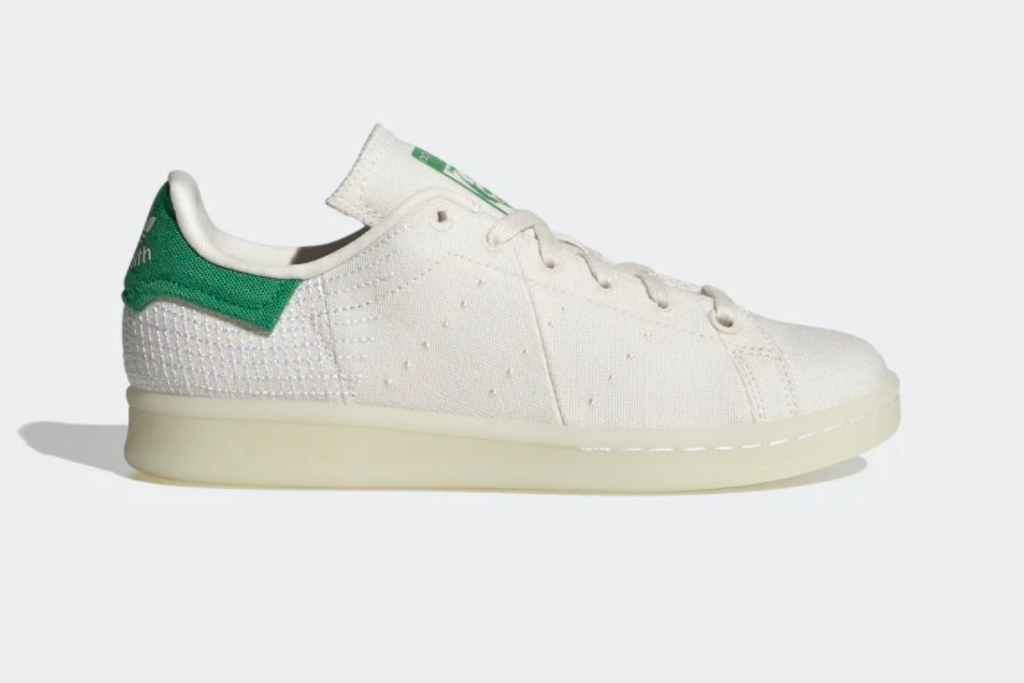 adidas, Stan Smith Primeblue Shoes, Chalk White, Green, New Colorways