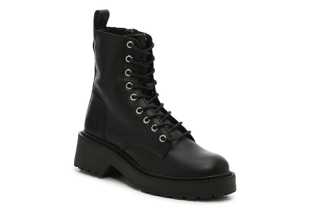 steve madden, tornado boot, combat boots