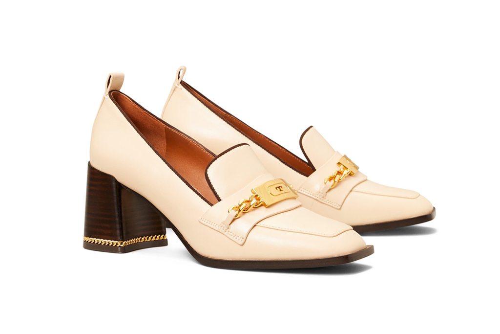 tory burch ruby loafer pump, best office shoes