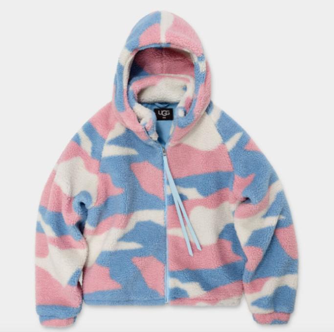 ugg-pride-sherpa-jacket, ugg pride 2021 collection