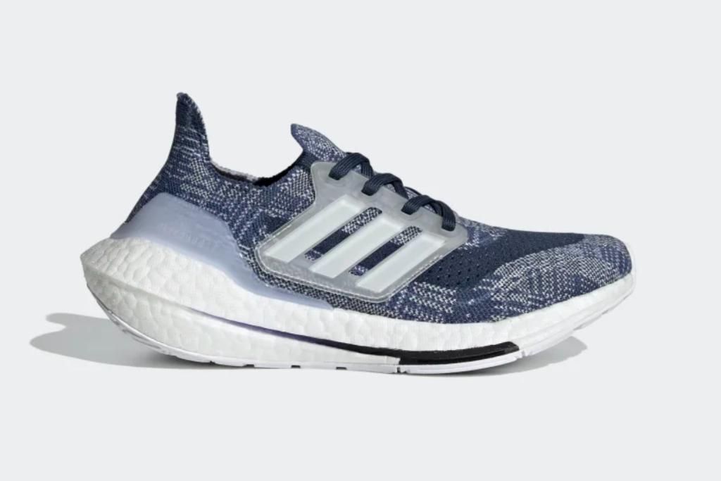 adidas, ultraboost 21 primeblue shoe, kids running sneakers