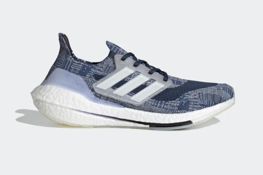 adidas, ultraboost 21 primeblue, mens running shoe