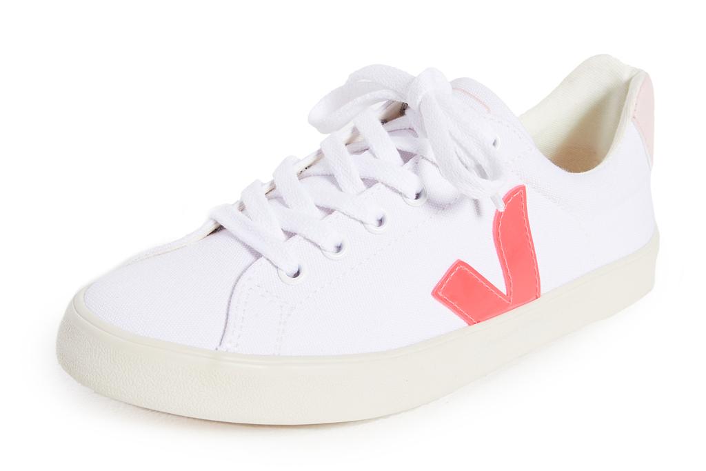 veja, sneakers, esplar, pink, gold