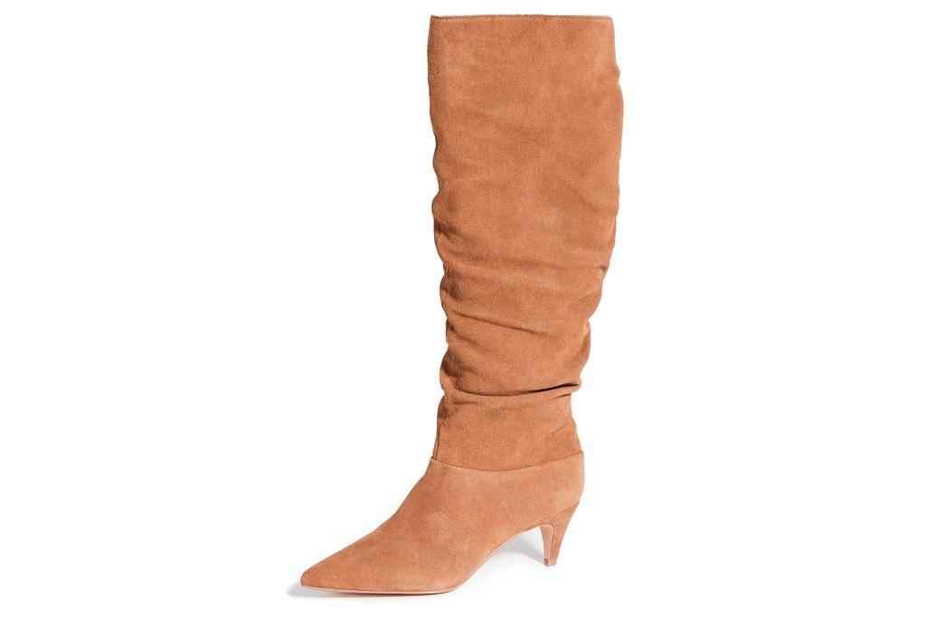 suede boots, villa rouge