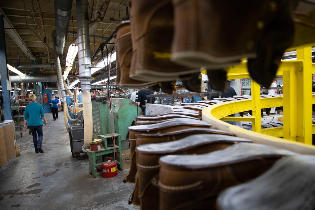 Weinbrenner Shoe Factory Merrill Wisconsin