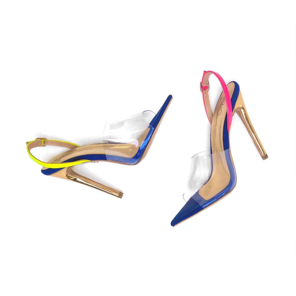 SybG by Sybille Guichard, Cardi B, sandals