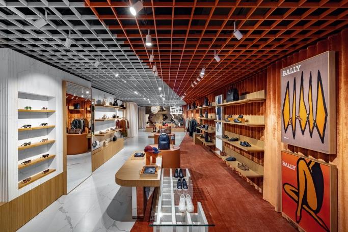 Bally New York Flagship Store interior