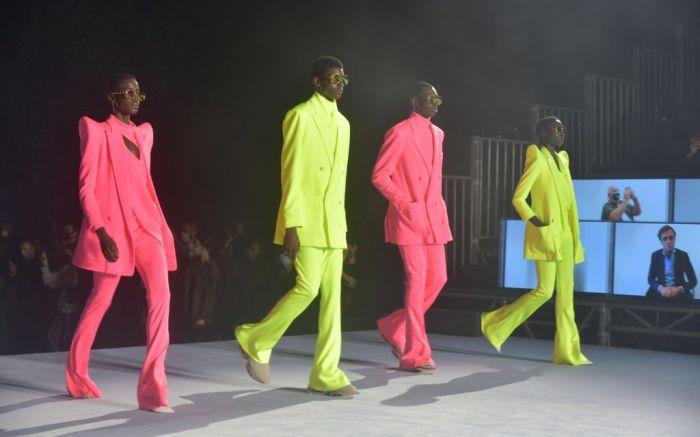 balmain, balmain spring 2021, paris fashion week, balmain music festival olivier rousteing