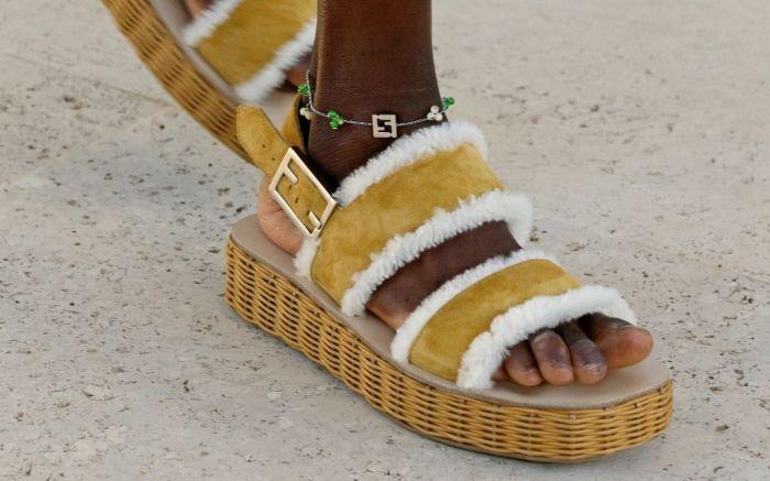 fendi, spring 2022, spring 2022 men's, fendi men's spring 2022, fendi, fendi shoes, men's sandals, fendi sandals, menswear, men's fashion, men's accessories
