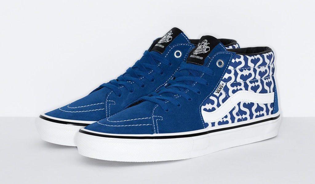 Supreme x Vans Skate Grosso Mid