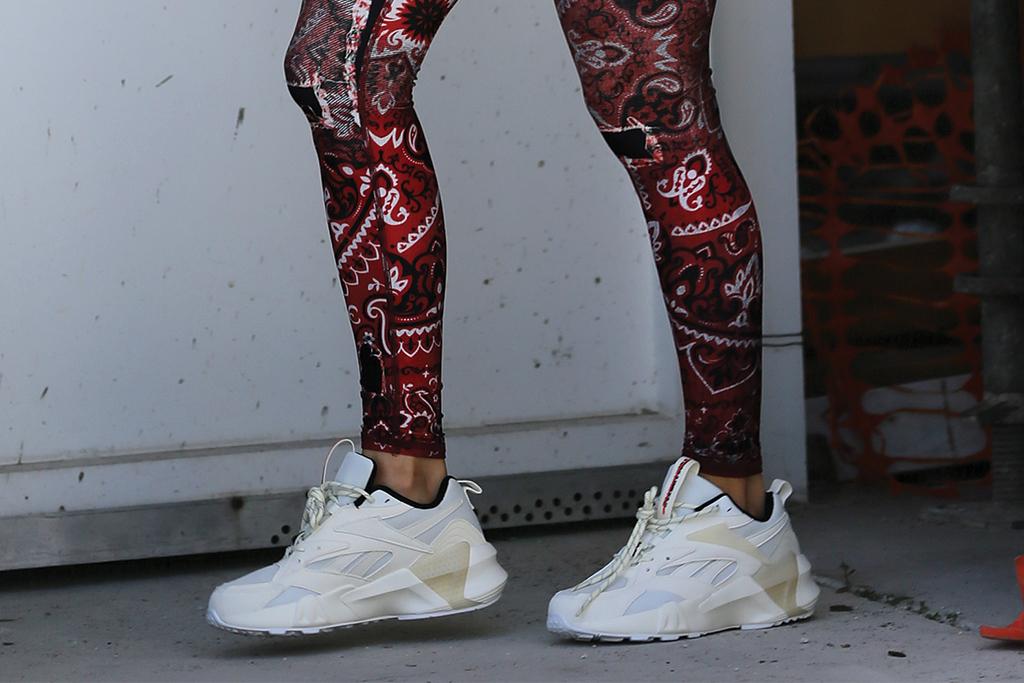 Jennifer Lopez, chunky sneakers