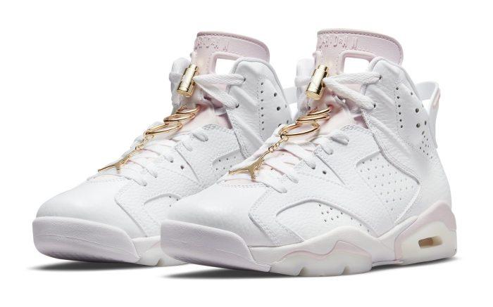 Air Jordan 6 Women's 'Gold Hoops'