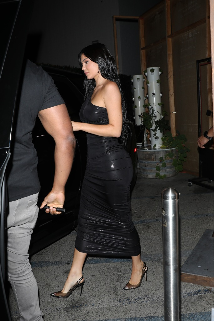 Kylie Jenner, Gianvito Rossi, pumps