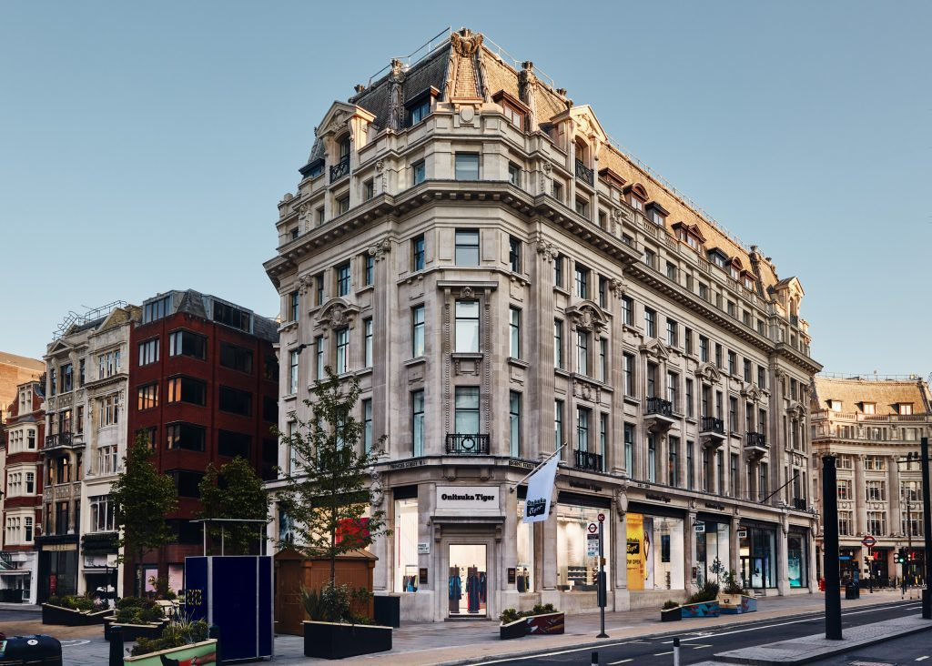 Onitsuka Tiger Opens Its World's Largest Flagship Store on London's Regent Street