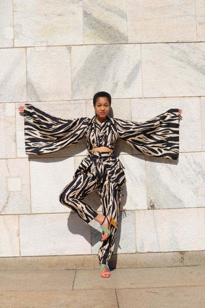 tamu mcpherson, shoe up for justice, tamu mcpherson influencer, fashion influencer, juneteenth, voting rights, stacey abrams