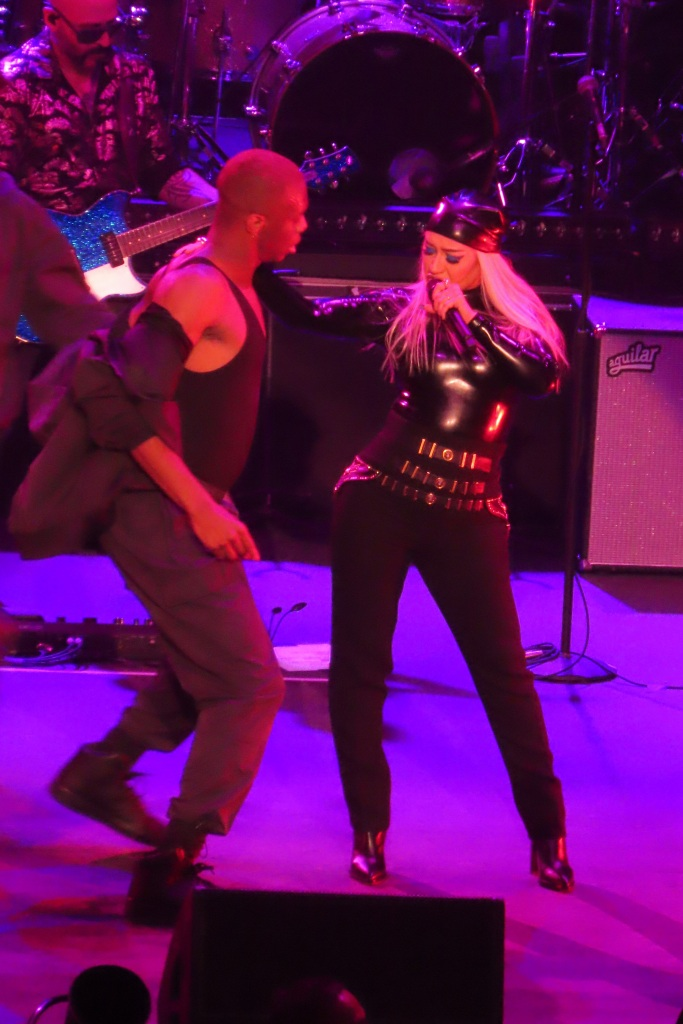 Christina Aguilera, ankle boots