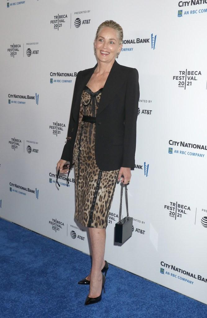 Sharon Stone, pumps