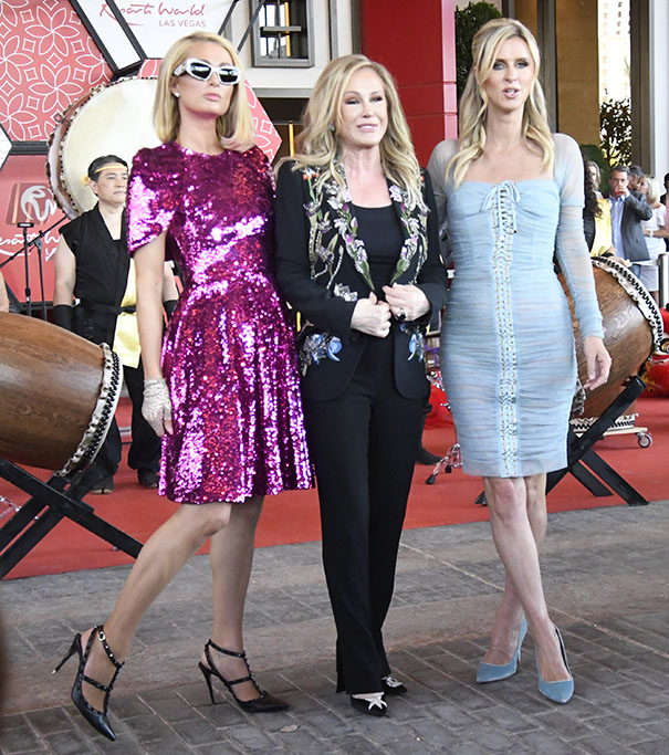 First inside look during the grand opening of Hilton Resort World Thursday, Las Vegas NV/USA. June 24,2021. Credit Image: Gene Blevins/ZUMA WirePictured: Paris Hilton,Nicky Hilton,Kathy HiltonRef: SPL5234494 240621 NON-EXCLUSIVEPicture by: Zuma / SplashNews.comSplash News and PicturesUSA: +1 310-525-5808London: +44 (0)20 8126 1009Berlin: +49 175 3764 166photodesk@splashnews.comWorld Rights, No Argentina Rights, No Belgium Rights, No China Rights, No Czechia Rights, No Finland Rights, No France Rights, No Hungary Rights, No Japan Rights, No Mexico Rights, No Netherlands Rights, No Norway Rights, No Peru Rights, No Portugal Rights, No Slovenia Rights, No Sweden Rights, No Switzerland Rights, No Taiwan Rights, No United Kingdom Rights