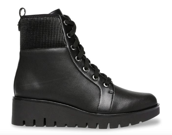 Anne Klein, boots combat boots