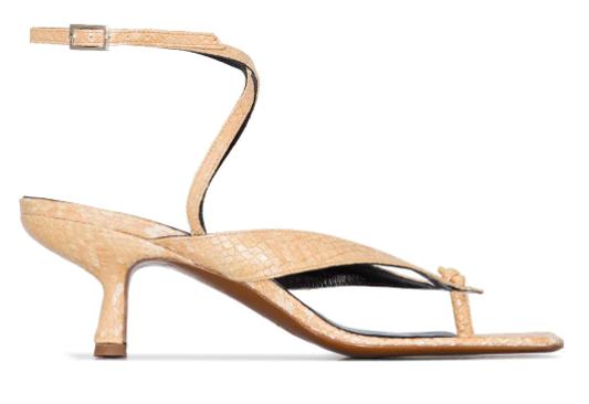 By Far, sandals