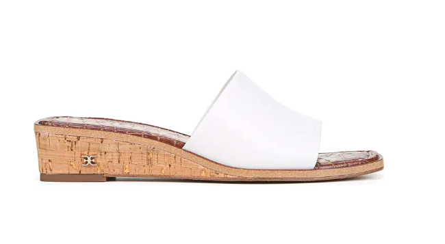 Sam Edelman, slide sandals.