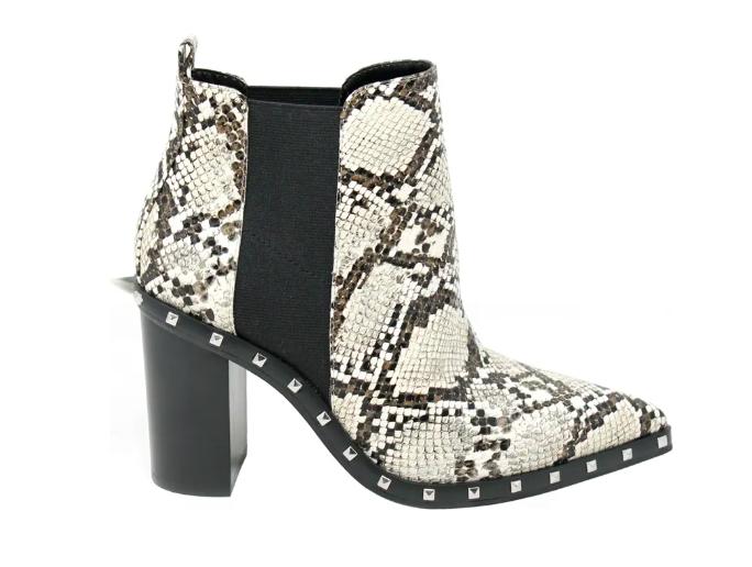 Charles David, boots, snakeskin boots