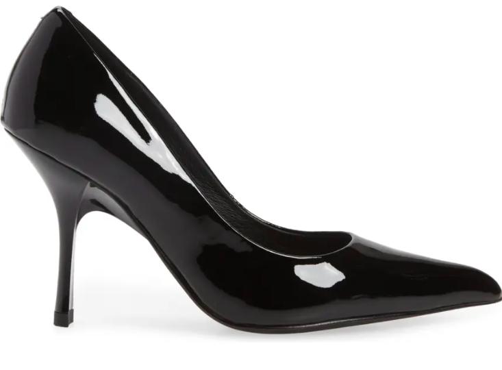 Jeffrey Campbell Maviel pumps, black patent leather
