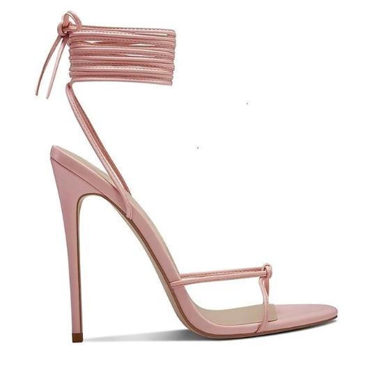 Femme LA, sandals, athens, pink, strappy