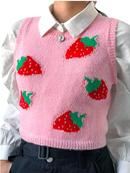 Amazon, sweater vest