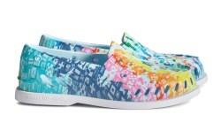 sperry, pride, boat shoe, rainbow, lgbtq,