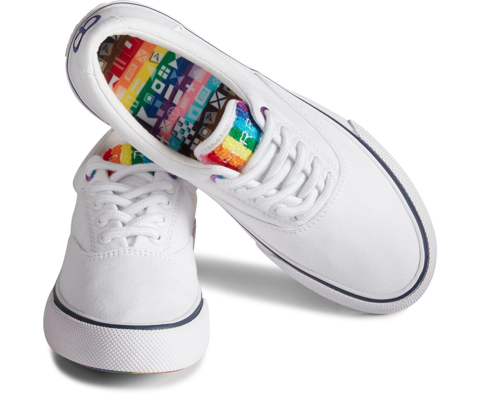 sperry, pride, sneaker, rainbow, lgbtq, 2021