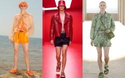 menswear, men's fashion, men's short shorts,