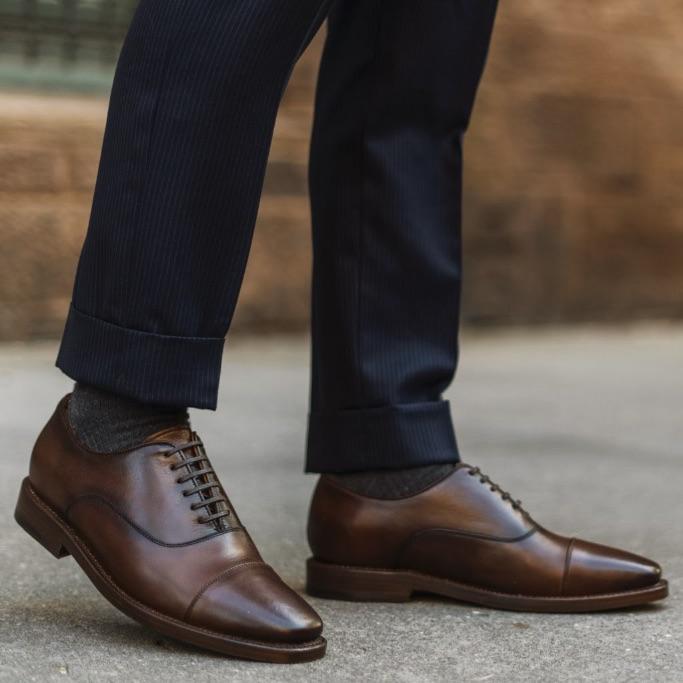 Thursday Boot Co, dress shoe, chestnut