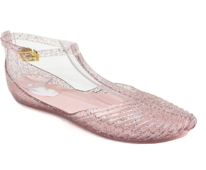 Yehopere T-Strap Jelly Sandal, best jelly shoes and sandals