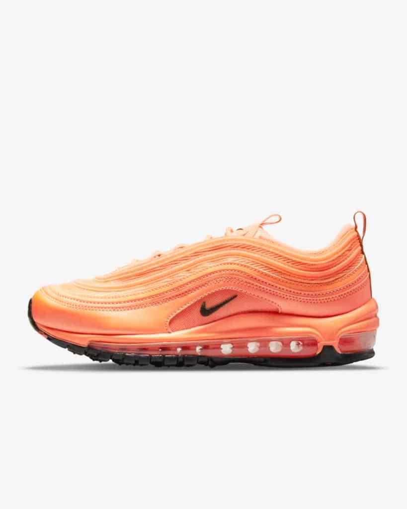 Nike Air Max 97 sneakers, orange