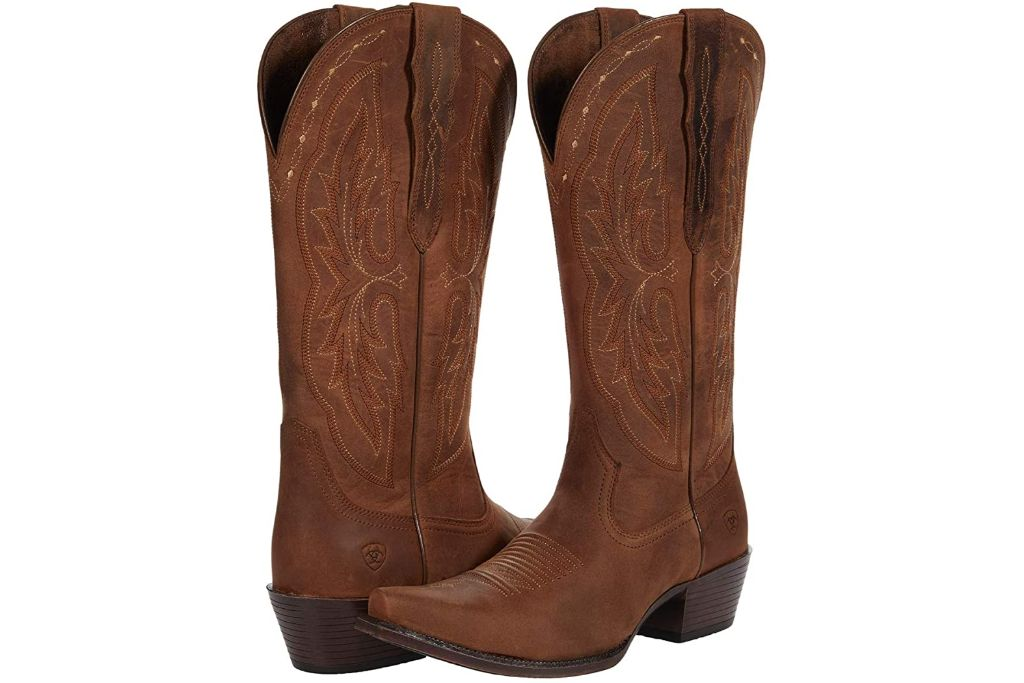 ariat, heritage x toe boots, cowboy boots