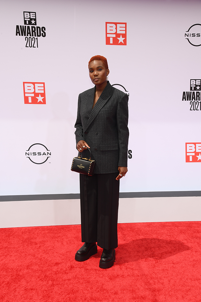 Arlo Park attends the 21st BET Awards at L.A. Live on June 27, 2021 in Los Angeles, California.