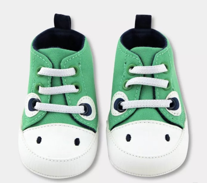Baby Boys' Dino Canvas High Top Shoes, best baby boy Target shoes
