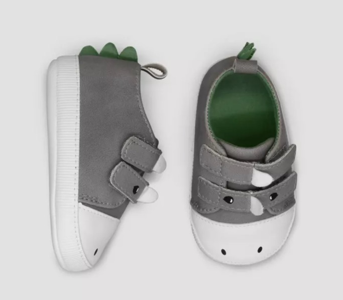 Baby Boys' Dino Sneakers, best baby boy Target shoes
