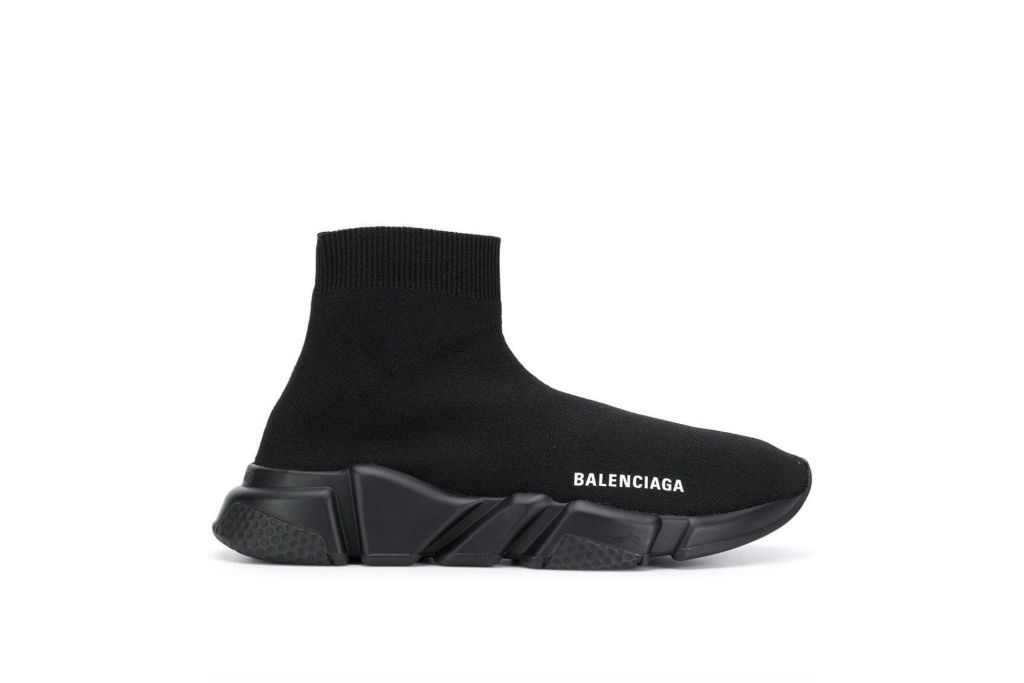 balenciaga, speed sneakers, black sneakers