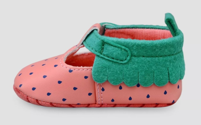 Best Shoes for Baby Girl, Target, Strawberry