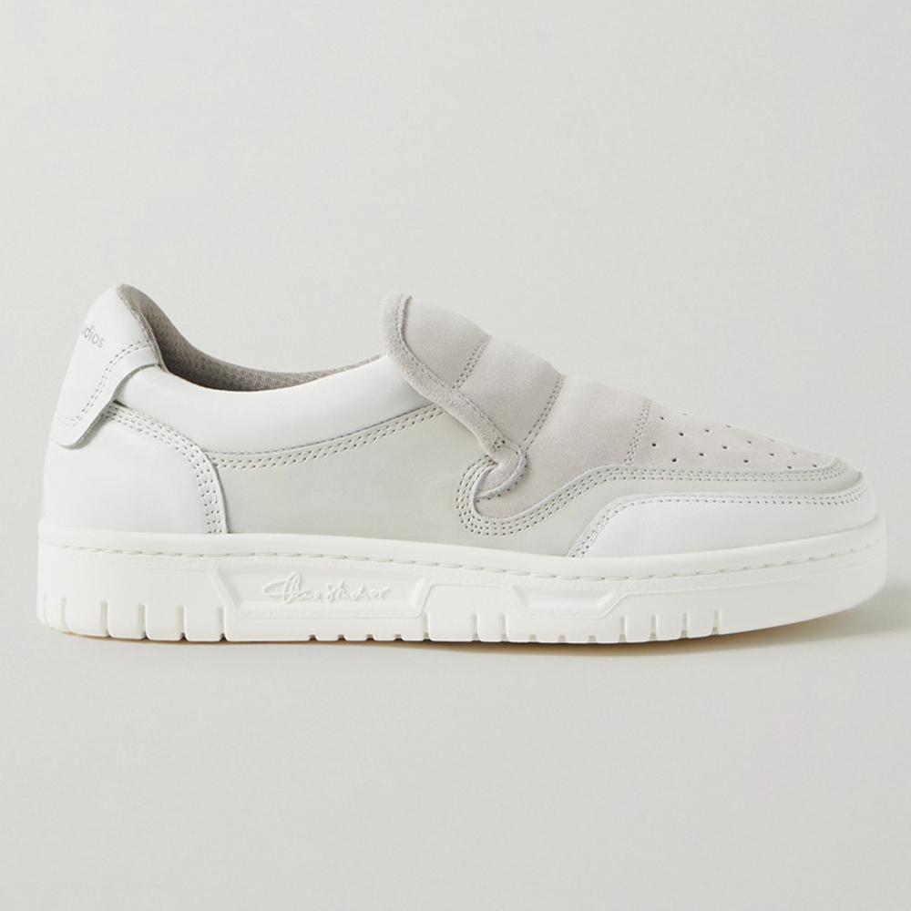 Acne Studios Buller Perforated Slip-On Sneakers