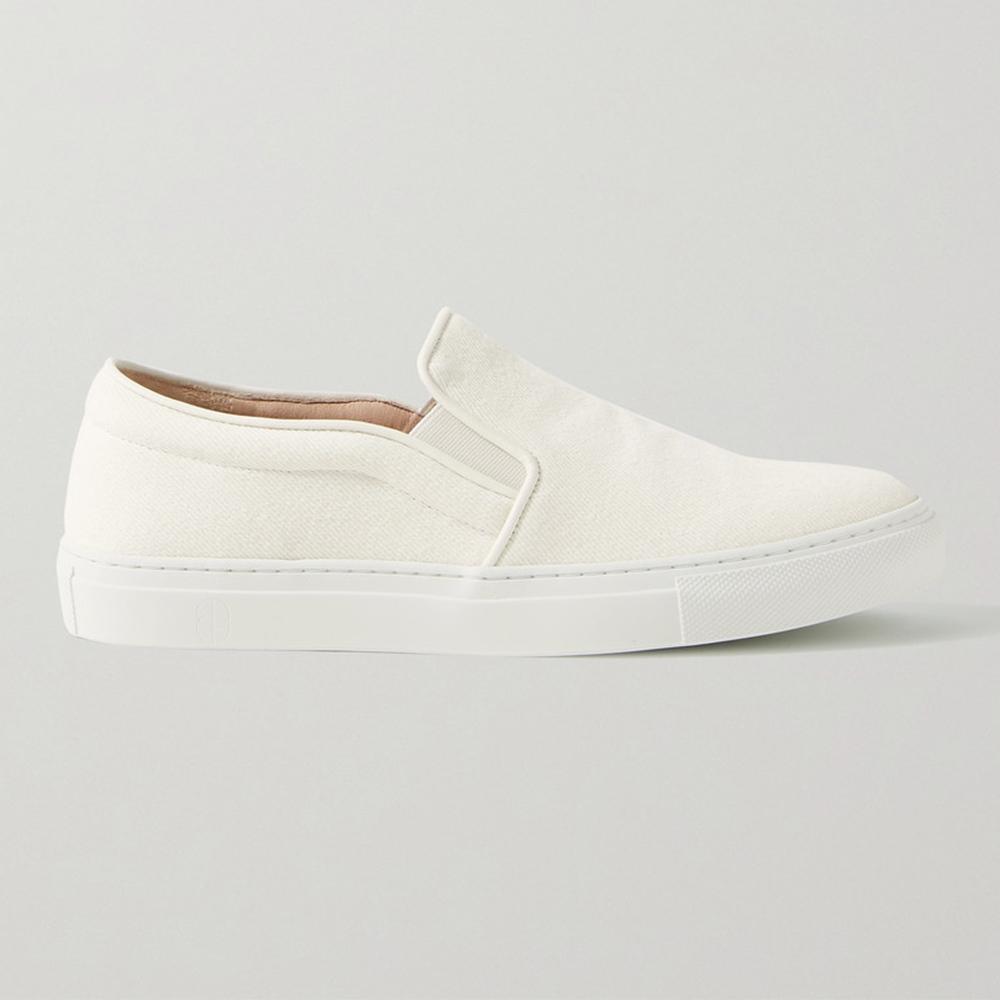 Porte & Paire Canvas Slip-On Shoes