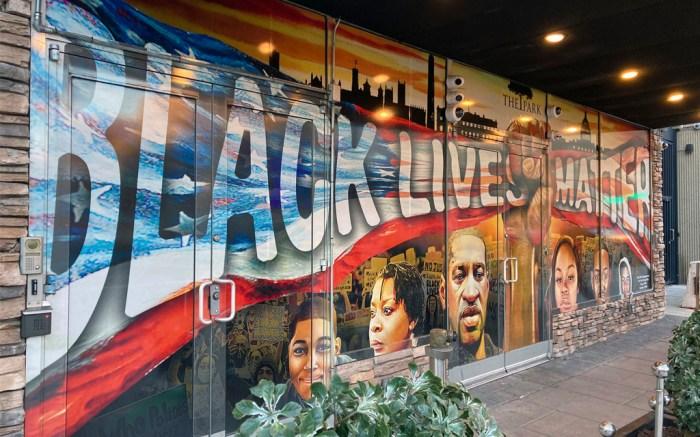 Black Lives Matter Mural Washington DC George Floyd