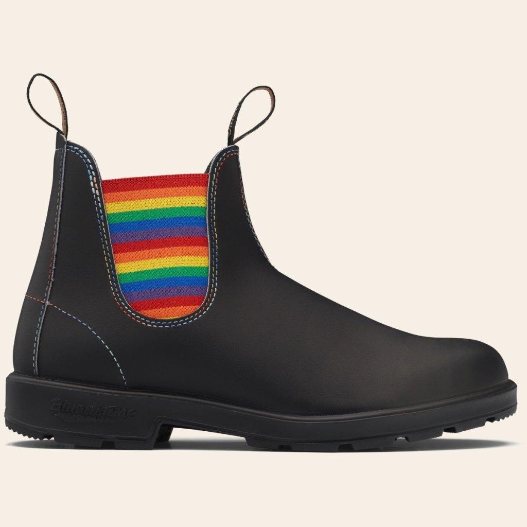 blundstone pride boots, 2105, chelsea boots, rainbow, lgbtq