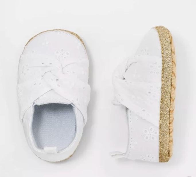 Cat & Jack Eyelet Shoes, target shoes for baby girl