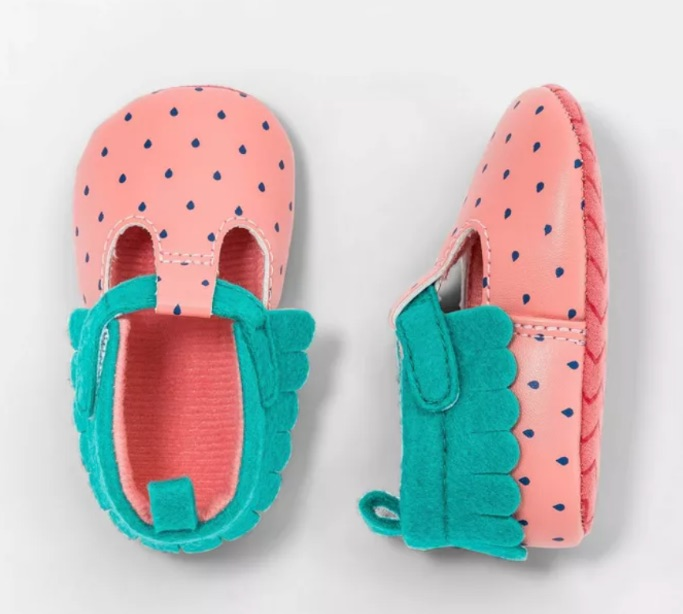 Cat & Jack Strawberry Shoes, target shoes for baby girl